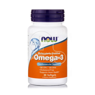 NOW - Omega-3 1000mg - 30softgels