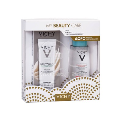 VICHY - PROMO PACK ΜΥ ΒΕΑUTY CARE NEOVADIOL Phytosculpt Neck & Face Contours - 50ml ΜΕ ΔΩΡΟ PURETE THERMALE Eau Micellaire Minerale - 100ml Sensitive Skin