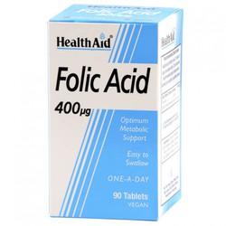 Health Aid | Health Aid Folic Acid 400mg 90 Tablets