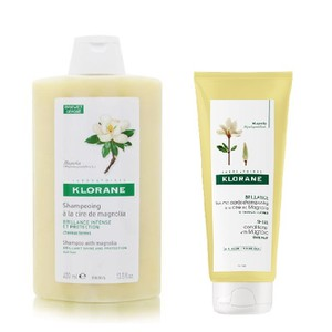 Klorane set shampoo 400ml magnolia conditioner 200ml