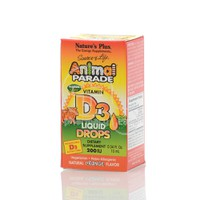 NATURE'S PLUS - SOURCE OF LIFE ANIMAL PARADE Vitamin D3 Drops 200IU - 10ml