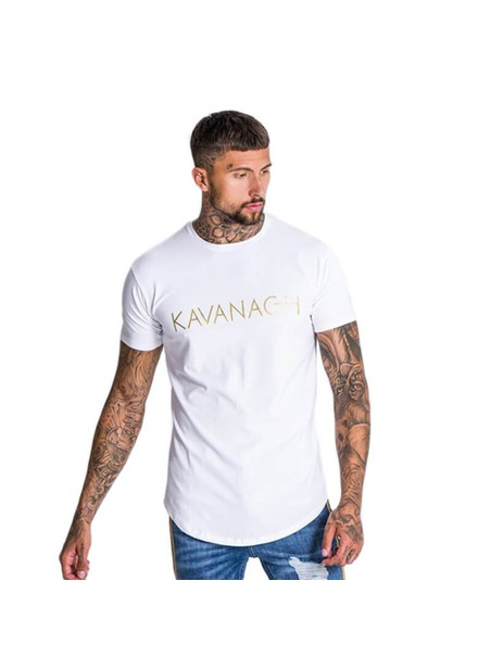 Gianni Kavanagh Tee With Gold Print