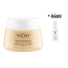 Vichy Neovadiol Compensating Complex Αντιγηραντική κρέμα Ημέρας 50ml + Vichy Mineral 89 Hyaluronic Acid Face Moisturizer 10ml