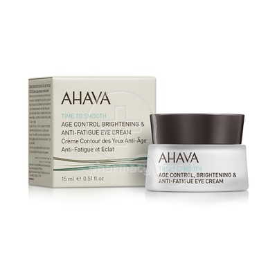 AHAVA - TIME TO SMOOTH Age Control Brightening & Anti-Fatigue Eye Cream - 15ml