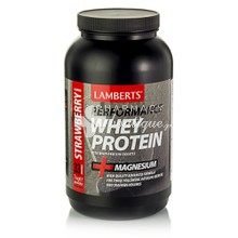 Lamberts WHEY PROTEIN STRAWBERRY - Φράουλα, 1000gr