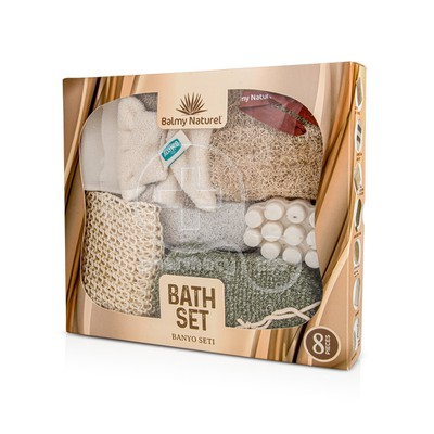 BALMY NATUREL - BATH SET with Savana Massage Soap