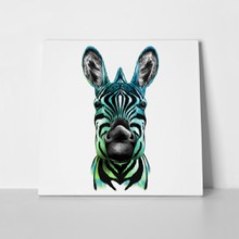 Head zebra color drawing 580967056 a