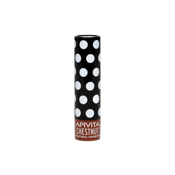 Apivita Chestnut Lip Care Tinted Ενυδάτωση Χειλιών 4.4gr