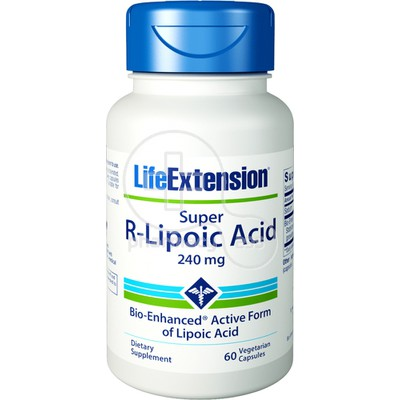 LIFE EXTENSION - Super R-Lipoic Acid 240mg - 60caps