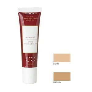 Korres wild rose cc cream spf30