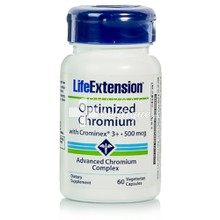 Life Extension Optimized CHROMIUM 500mg - Αδυνάτισμα, 60 caps
