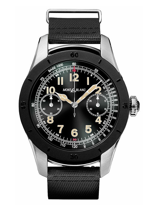 Summit Smartwatch World Time Chronograph