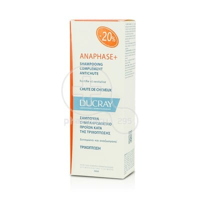 DUCRAY - ANAPHASE+ Shampooing Complement Antichute - 200ml
