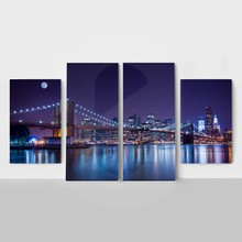 4panel brooklyn bridge