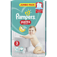 PAMPERS PANTS No3 (6-11KG) JUMBO PACK (60ΤΕΜ)