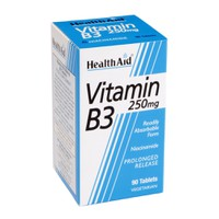 HEALTH AID VITAMIN B3 (NIACIN) 250MG 90TABL