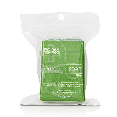 PC365 - PURE CARE Green Soap - 125gr