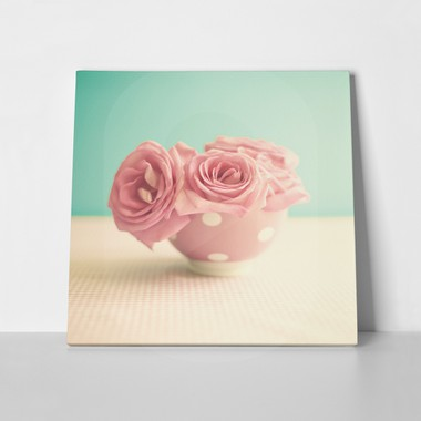 Retro pink roses a