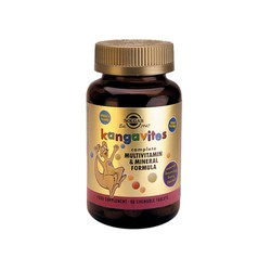 Solgar Kangavites Complete Multivitamin & Mineral Formula Berry 60chew. tablets
