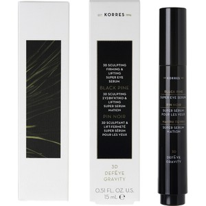 Korres black pine super serum eye