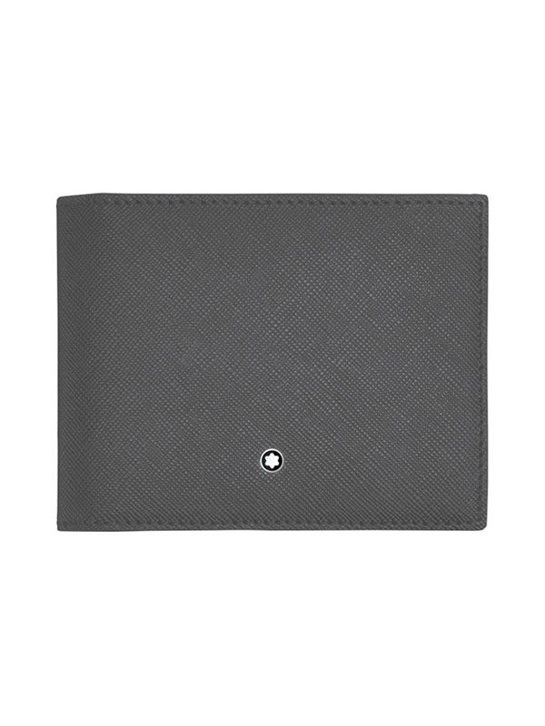 Sartorial  Grey Wallet 4cc with Coin Case
