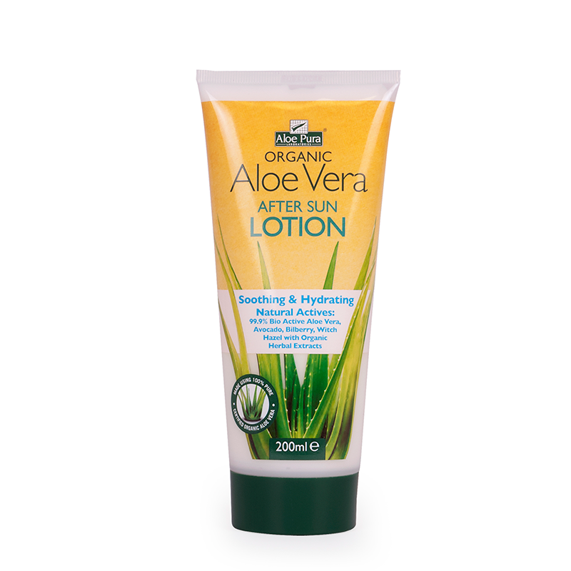 Organic Aloe vera After Sun Protection Lotion