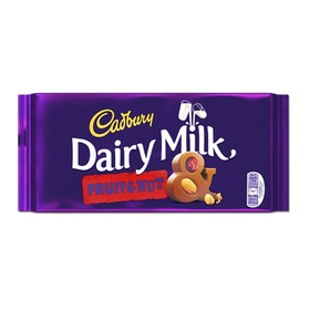 CADBURY ΣΟΚΟΛΑΤΑ DAIRY MILK FRUIT & NUT 110gr