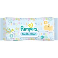 Pampers Baby Wipes Baby Fresh Clean 64 Τεμάχια
