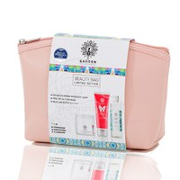 GARDEN - PROMO PACK BEAUTY BAG SET No6 Ενυδατική Κρέμα Ημέρας SPF15 - 50ml, Peel Off Glitter Mask - 75ml & Micellar Water all-in-one - 100ml