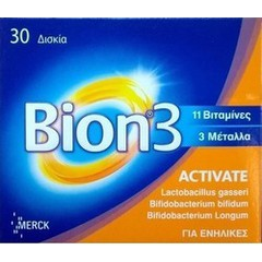 Merck Bion 3 Activate, 30 ταμπλέτες