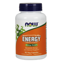 NOW ENERGY 90 VEG. CAPS