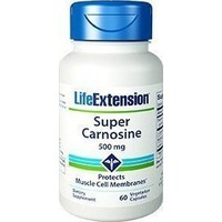 LIFE EXTENSION SUPER CARNOSINE 500MG 60VEG. CAPS