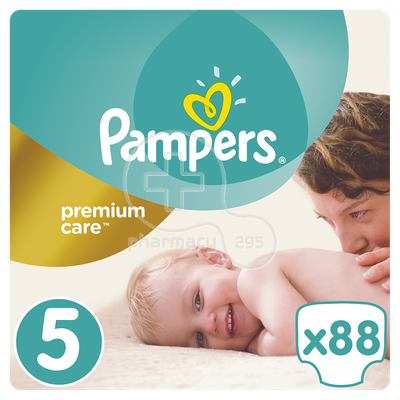PAMPERS - PREMIUM CARE No5 (11-18kg) - 88 πάνες