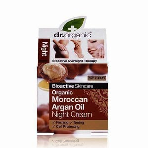 Dr organic moroccan argan oil night cream 50ml
