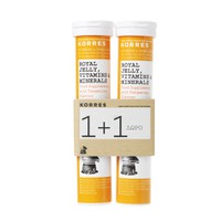 Korres 1+1 Royal Jelly, Vitamins & Minerals 2x18 Αναβράζοντα Δισκία
