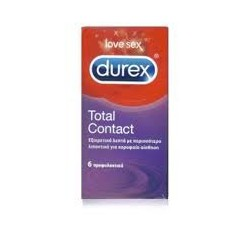 Durex Total Contact 6 τεμ.
