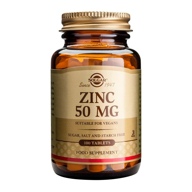 Zinc Gluconate 50mg tablets