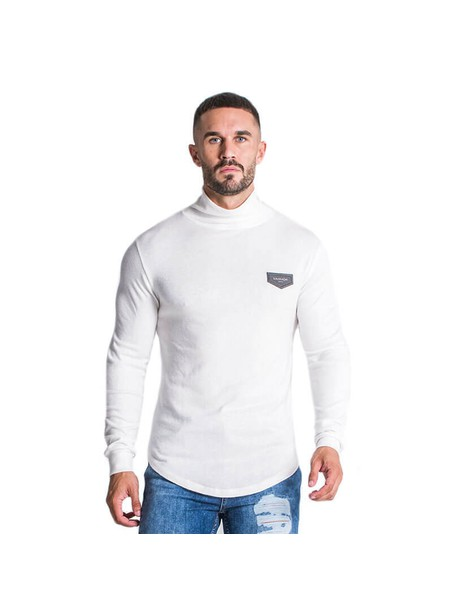 Gianni Kavanagh White Turtleneck Jumper