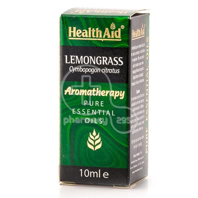 HEALTH AID - AROMATHERAPY Pure Essential Oil Lemongrass - 10ml