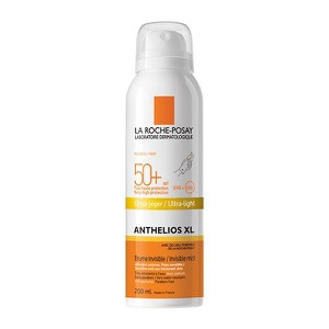 LA ROCHE-POSAY Anthelios XL invisible mist spray Spf50 αντηλιακό body mist για πρόσωπο & σώμα 200ml
