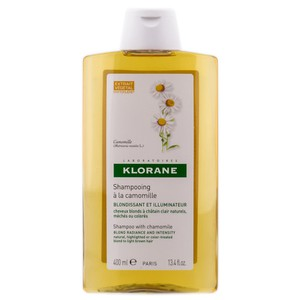 Klorane shampoo with chamomile blond