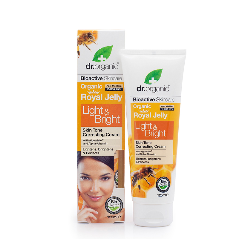 Organic Royal Jelly Light & Bright Cream