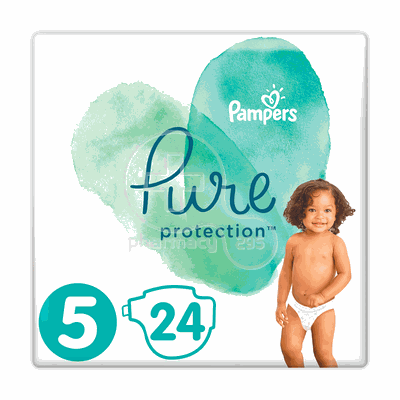 PAMPERS - PURE Protection No5 (11+kg) - 24πάνες