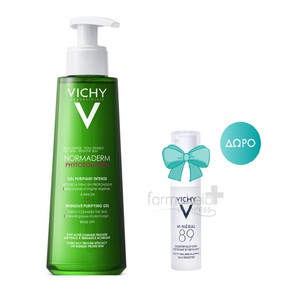 VICHY Normaderm phytosolution gel 400ml & ΔΩΡΟ Mineral 5ml