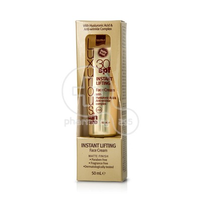 INTERMED - LUXURIOUS SUNCARE Instant Lifting Face Cream SPF30 - 50ml