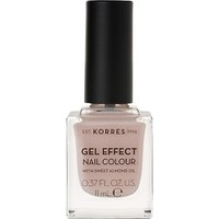 KORRES NAIL COLOUR GEL EFFECT No31 SANDY NUDE 11ML