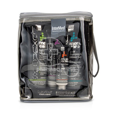 INTERMED - LUXURIOUS MEN'S CARE Daily Essentials Kit - 4τεμ.