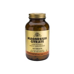 Solgar Magnesium Citrate 200mg 120tablets