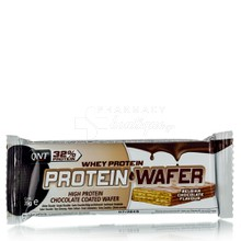 QNT Whey Protein Wafer Bar - Belgian Chocolate (32%), 35gr