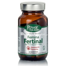 Power Health Platinum Femina FERTINAL - Γονιμότητα, 30 caps